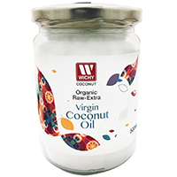 Aceite de Coco Orgánico Extra Virgen WICHY 500 ml