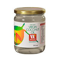 Aceite de Coco Orgánico Virgen WICHY 230 ml